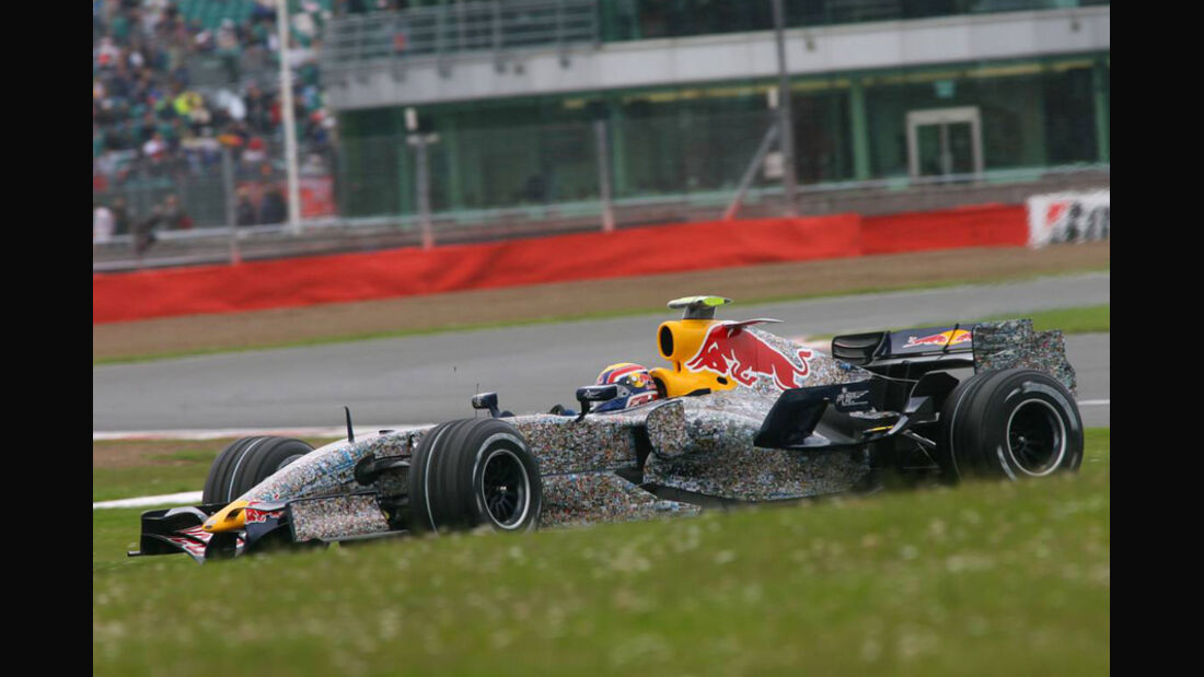 Mark Webber 2007 GP England