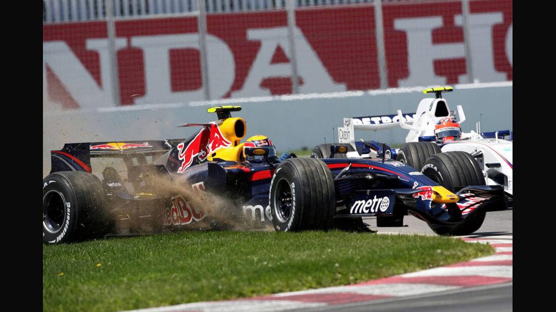 Mark Webber 2007 GP Kanada Red Bull