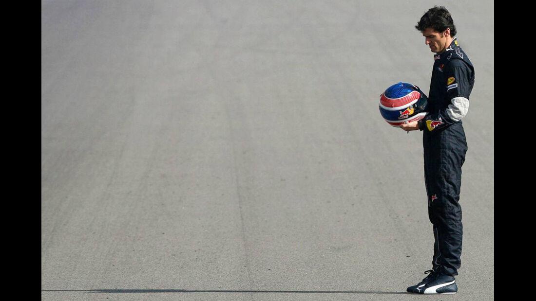 Mark Webber 2007 Red Bull