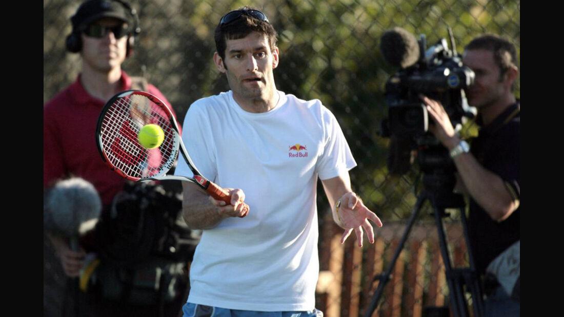 Mark Webber 2007 Tennis