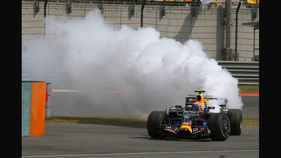 Mark Webber 2008 GP China