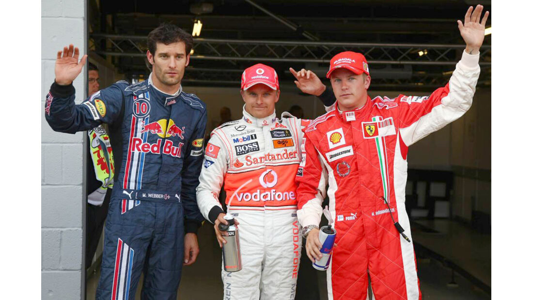 Mark Webber 2008 GP England