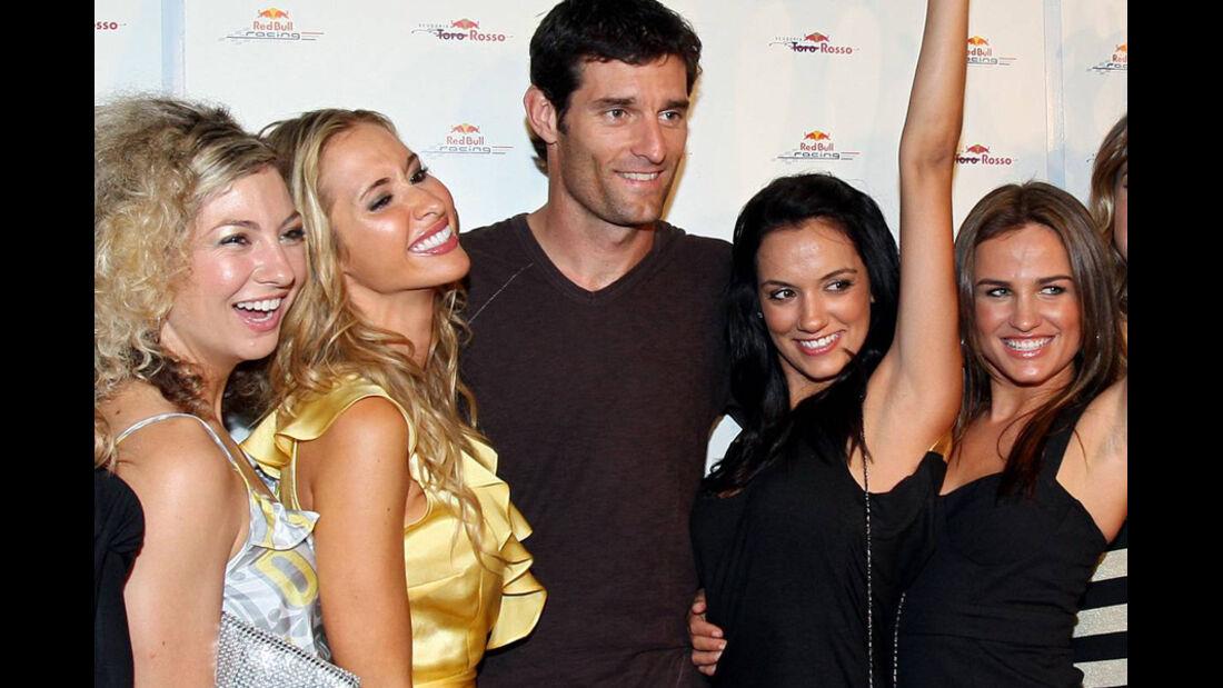 Mark Webber 2008 Girls