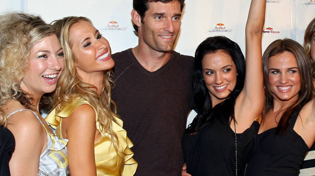 Mark Webber 2008 Girls