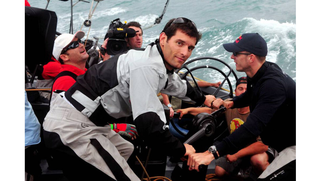 Mark Webber 2008 Segeln