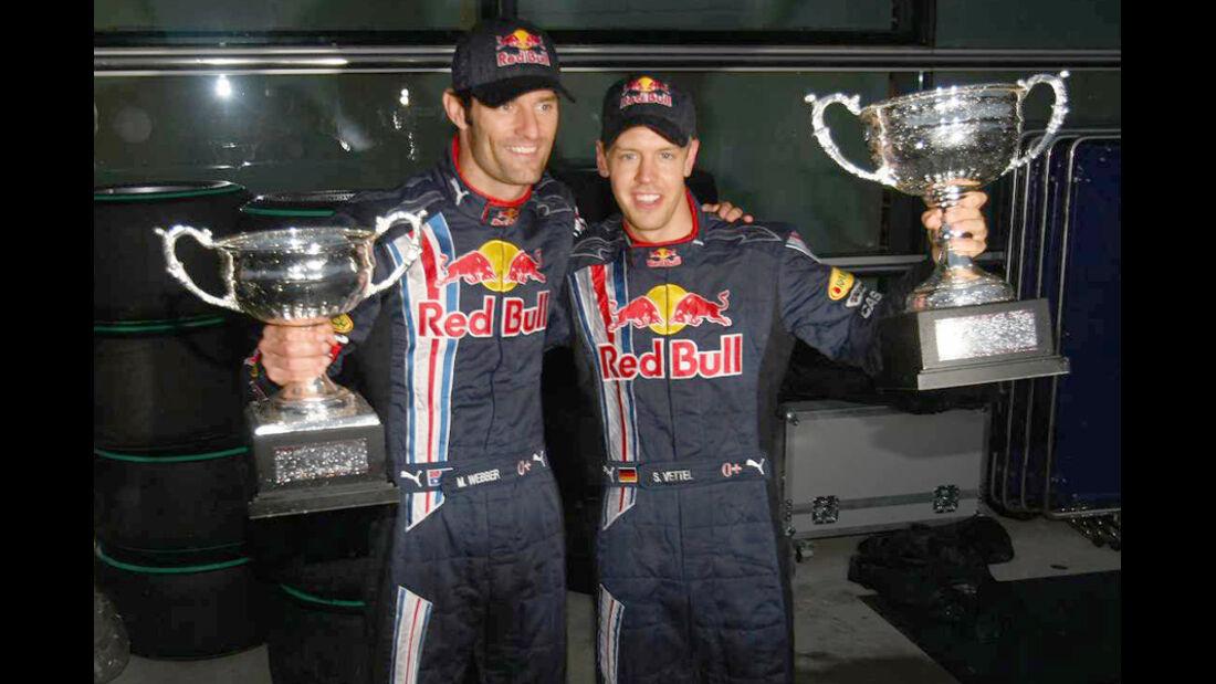 Mark Webber 2009 GP China Vettel Sieg