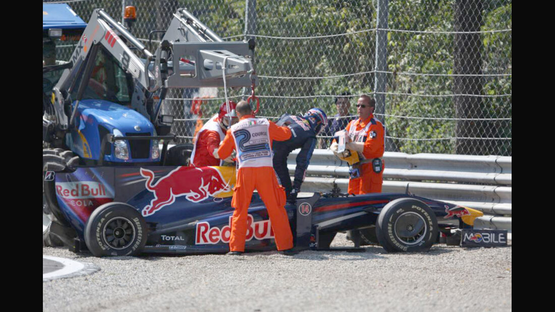 Mark Webber 2009 GP Italien