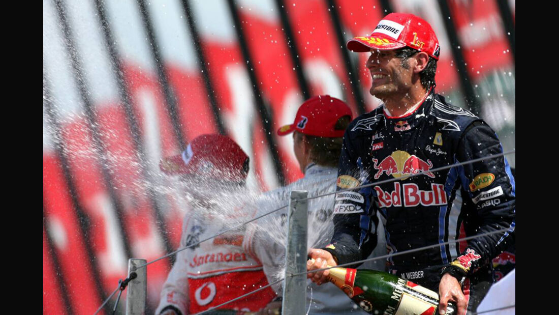 Mark Webber 2010 GP England