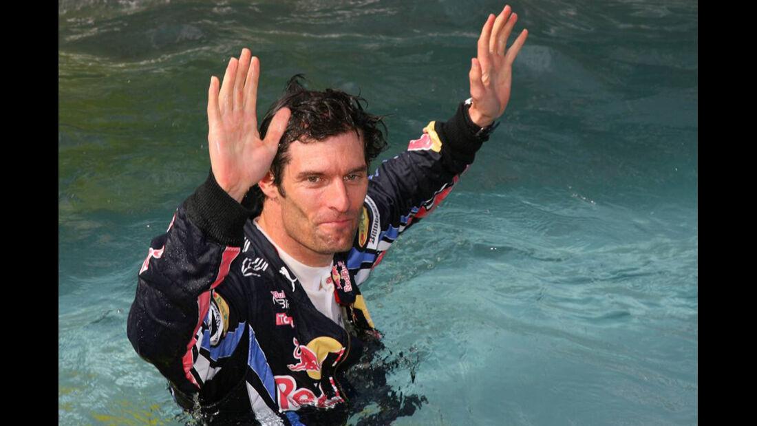 Mark Webber 2010 GP Monaco