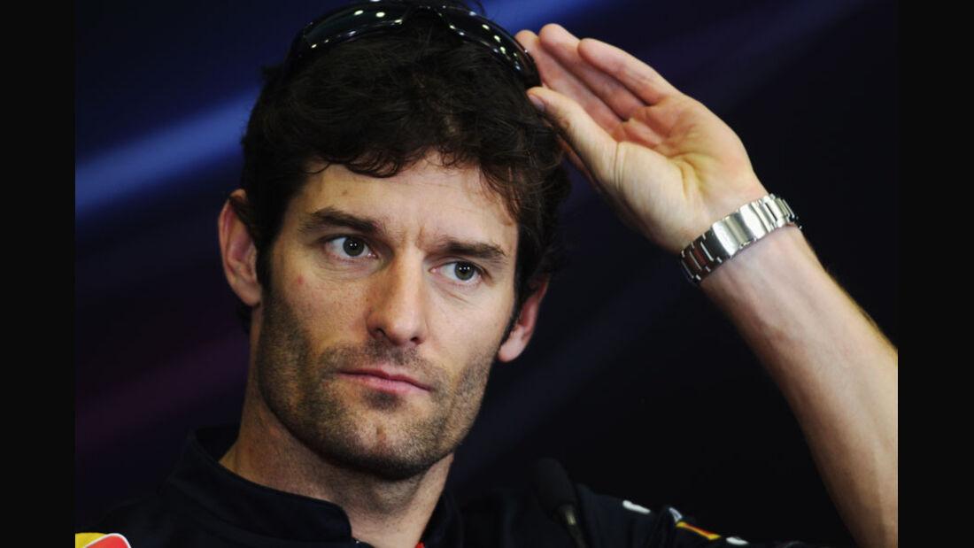 Mark Webber 2011