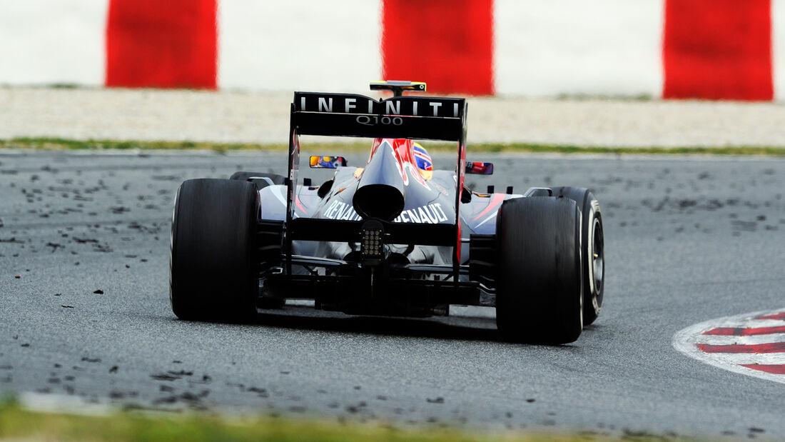 Mark Webber - Barcelona F1 Test 2013