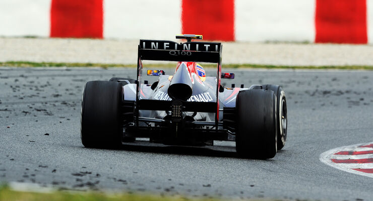 Mark Webber - Barcelona F1 Test 2013