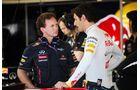 Mark Webber- Christian Horner  - Formel 1 - GP Europa - 23. Juni 2012