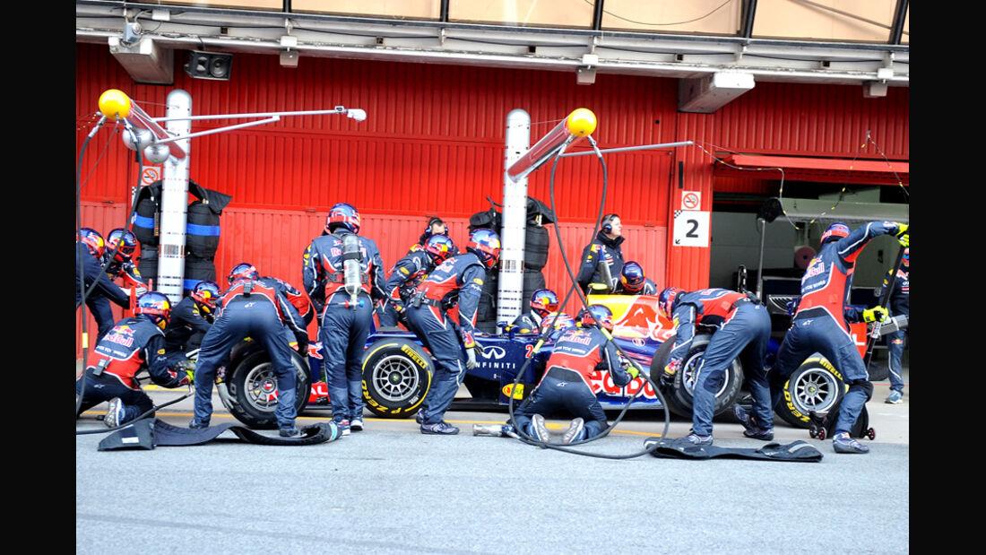 Mark Webber - F1-Test - Barcelona 2012