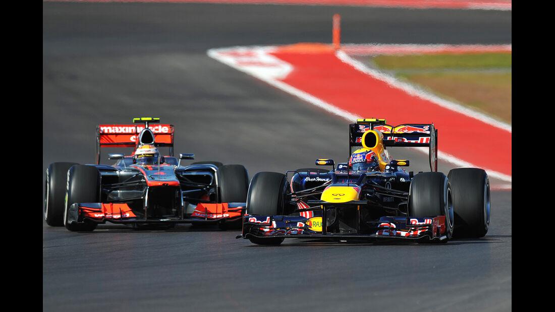 Mark Webber Formel 1 Austin GP USA 2012