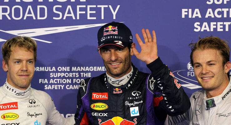Mark Webber  - Formel 1 - GP Abu Dhabi - 01. November 2013
