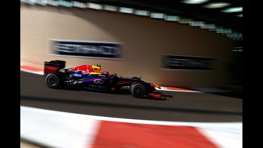 Mark Webber - Formel 1 - GP Abu Dhabi - 02. November 2013