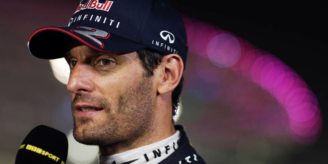 Mark Webber - Formel 1 - GP Abu Dhabi - 02. November 2013