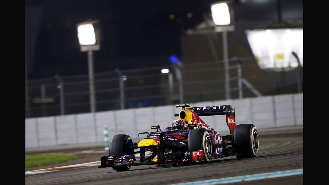 Mark Webber - Formel 1 - GP Abu Dhabi - 03. November 2013