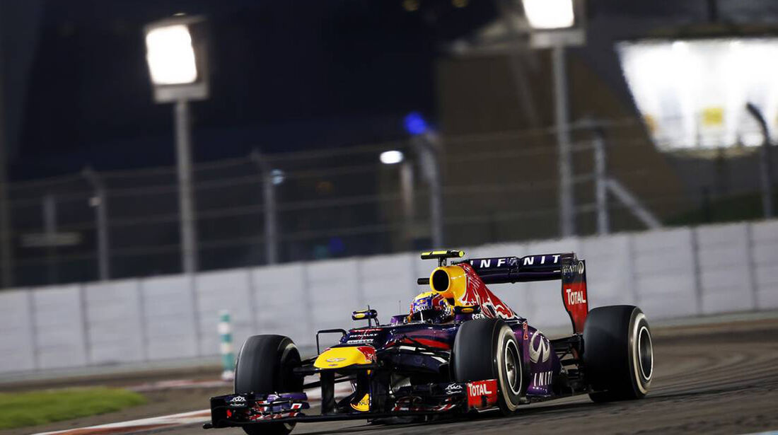 Mark Webber - Formel 1 - GP Abu Dhabi - 03. November 2013