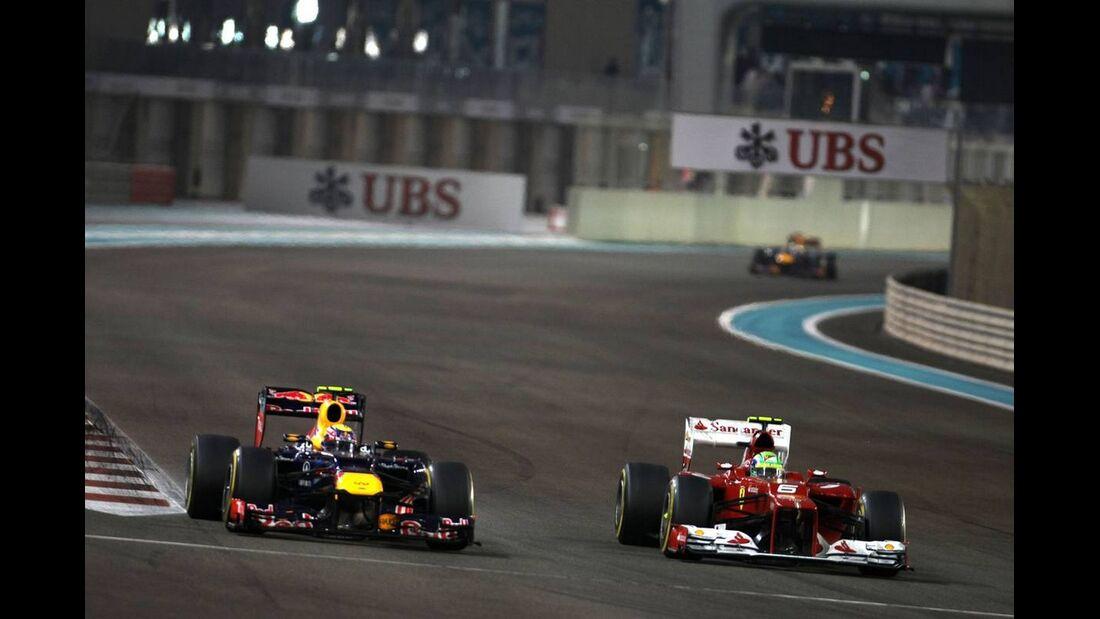 Mark Webber - Formel 1 - GP Abu Dhabi - 04. November 2012
