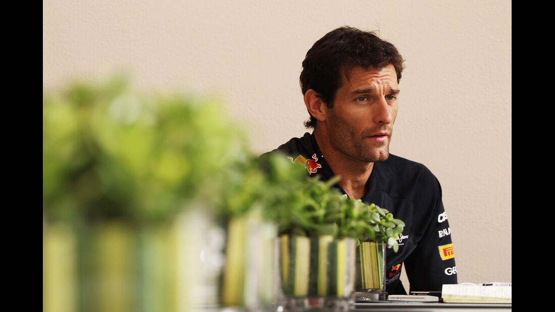 Mark Webber - Formel 1 - GP Bahrain - 19. April 2012