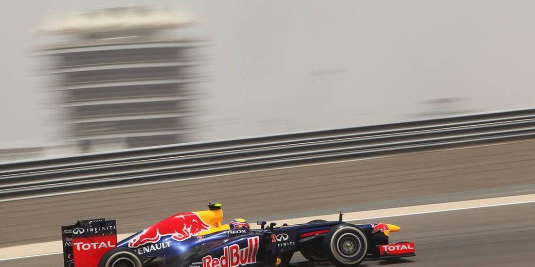 Mark Webber - Formel 1 - GP Bahrain - 20. April 2012