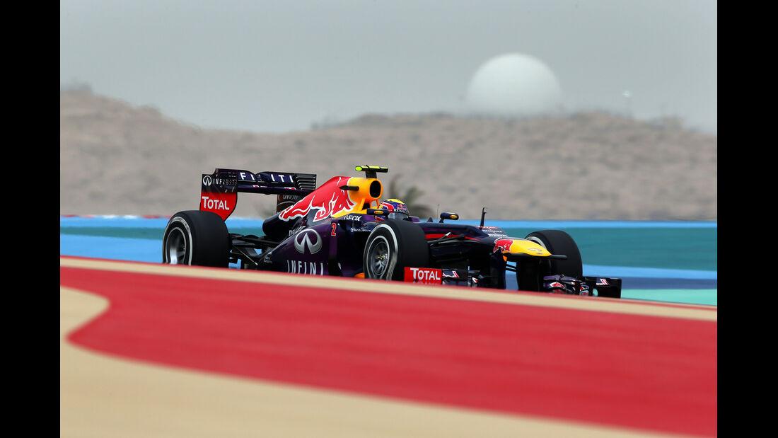 Mark Webber - Formel 1 - GP Bahrain - 20. April 2013