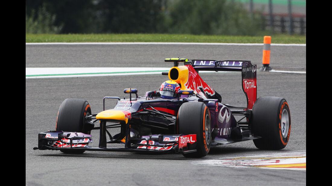 Mark Webber - Formel 1 - GP Belgien - Spa-Francorchamps - 24. August
