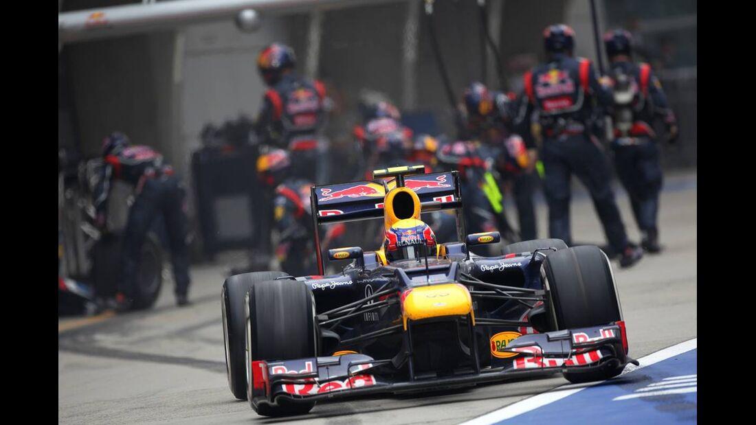 Mark Webber  - Formel 1 - GP China - 15. April 2012