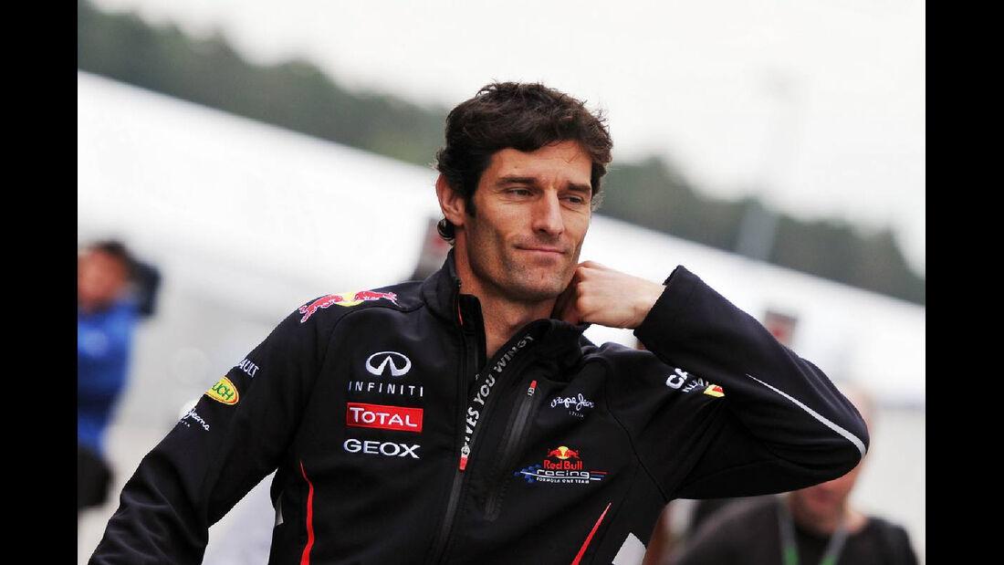 Mark Webber - Formel 1 - GP Deutschland - 19. Juli 2012