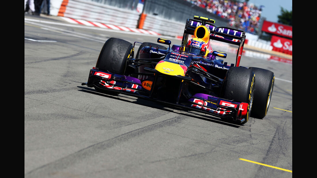 Mark Webber - Formel 1 - GP Deutschland 2013