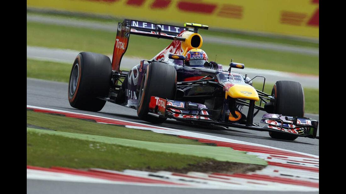 Mark Webber - Formel 1 - GP England - 29. Juni 2013