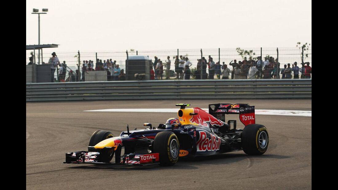 Mark Webber - Formel 1 - GP Indien - 27. Oktober 2012