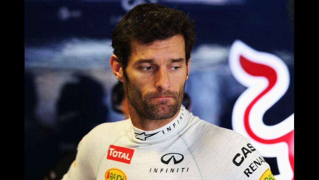 Mark Webber - Formel 1 - GP Italien - 08. September 2012