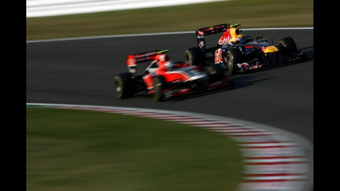 Mark Webber  - Formel 1 - GP Japan - 9. Oktober 2011