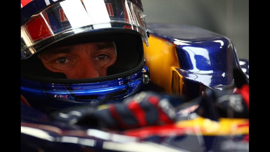 Mark Webber - Formel 1 - GP Korea - 14. Oktober 2011
