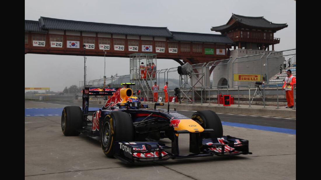 Mark Webber  - Formel 1 - GP Korea - 15. Oktober 2011