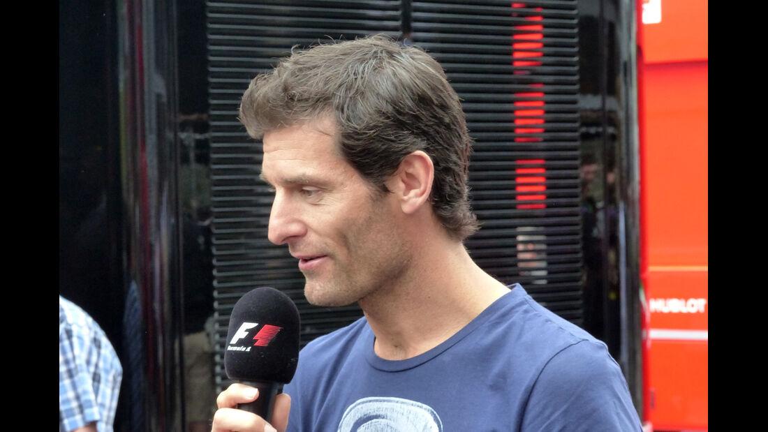 Mark Webber - Formel 1 - GP Österreich - Spielberg - 21. Juni 2014