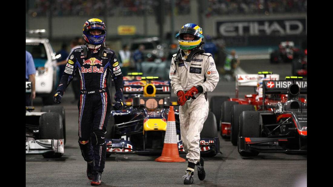 Mark Webber GP Abu Dhabi 2010