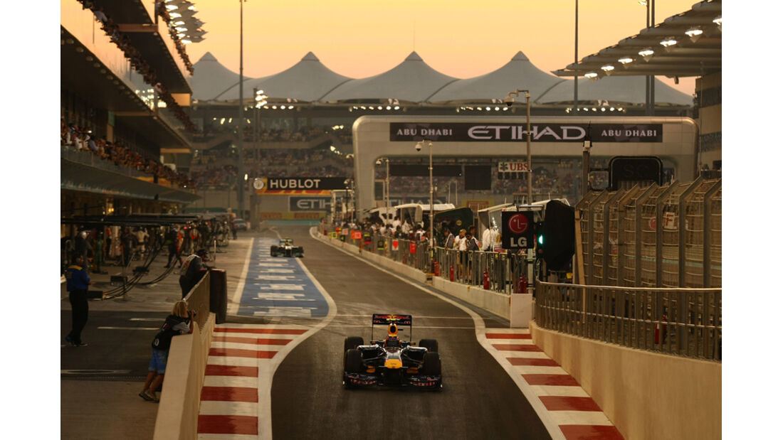 Mark Webber GP Abu Dhabi 2011