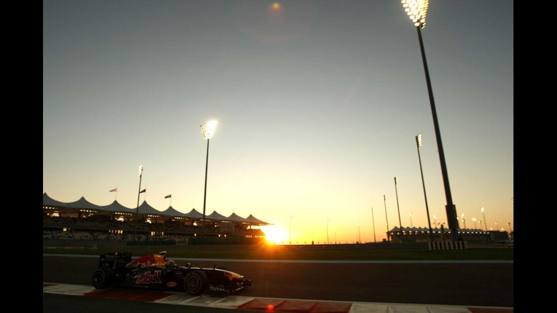 Mark Webber - GP Abu Dhabi - Freies Training - 11. November 2011