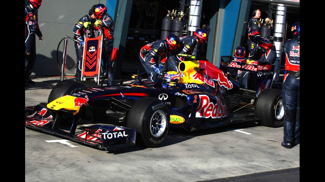Mark Webber GP Australien 2011
