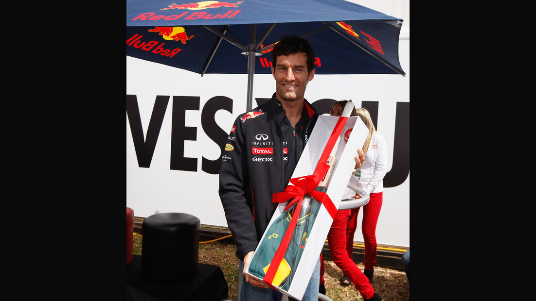 Mark Webber GP Australien 2012