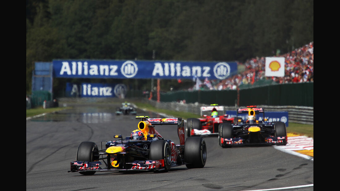 Mark Webber - GP Belgien 2012