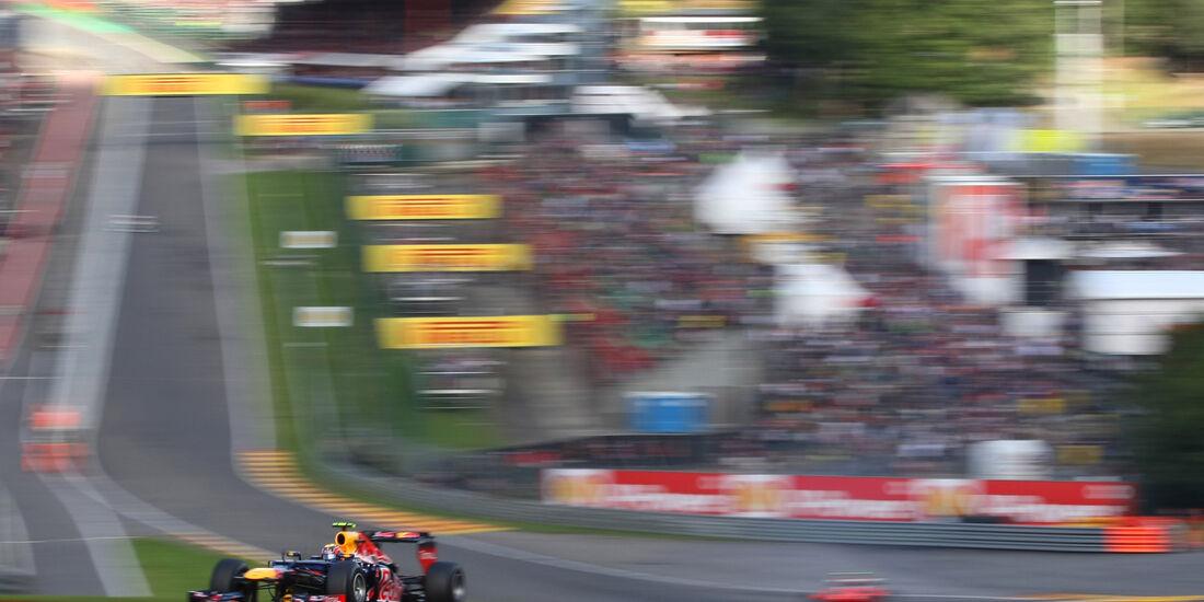 Mark Webber GP Belgien 2012