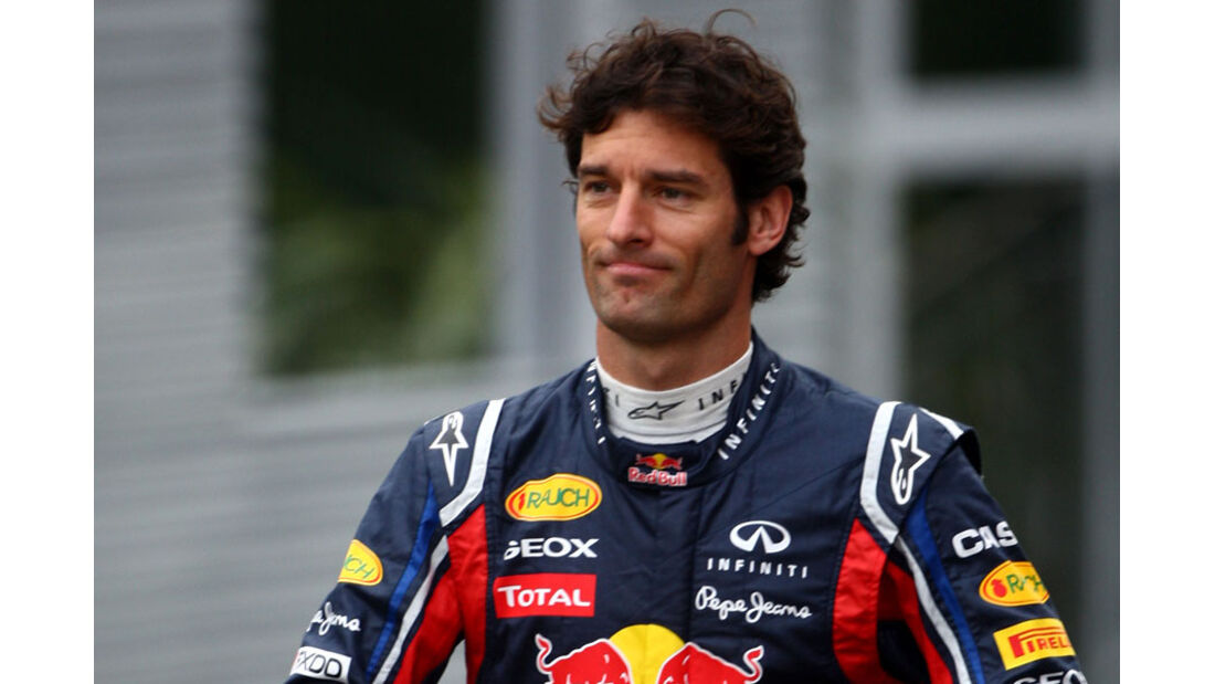 Mark Webber - GP Belgien - 26. August 2011