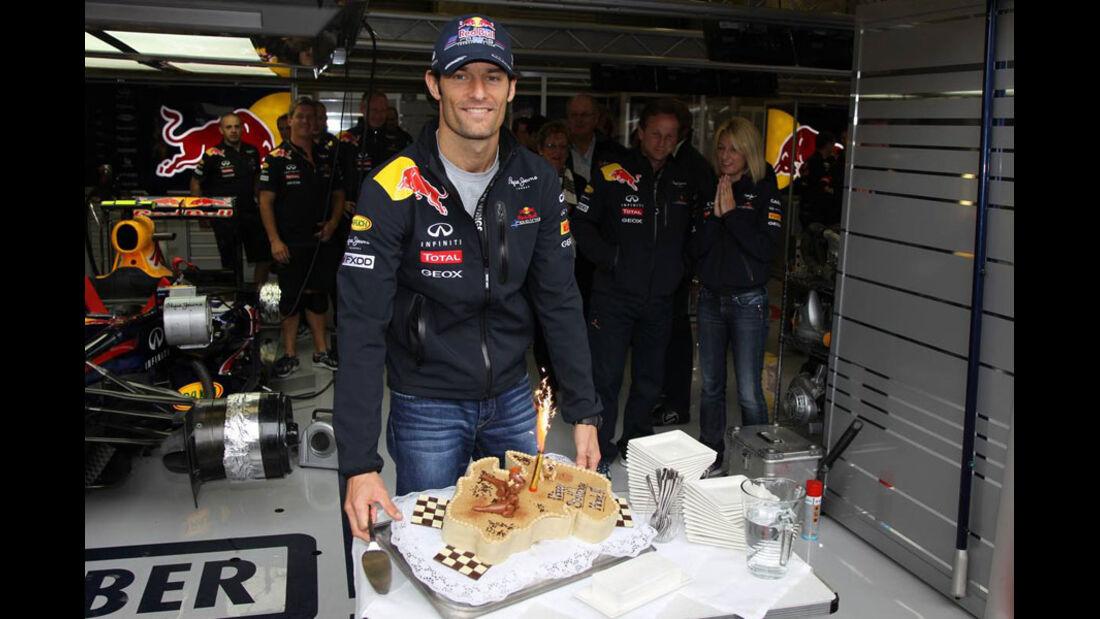 Mark Webber - GP Belgien - Qualifying - 27.8.2011