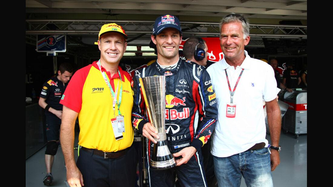 Mark Webber GP Brasilien 2011