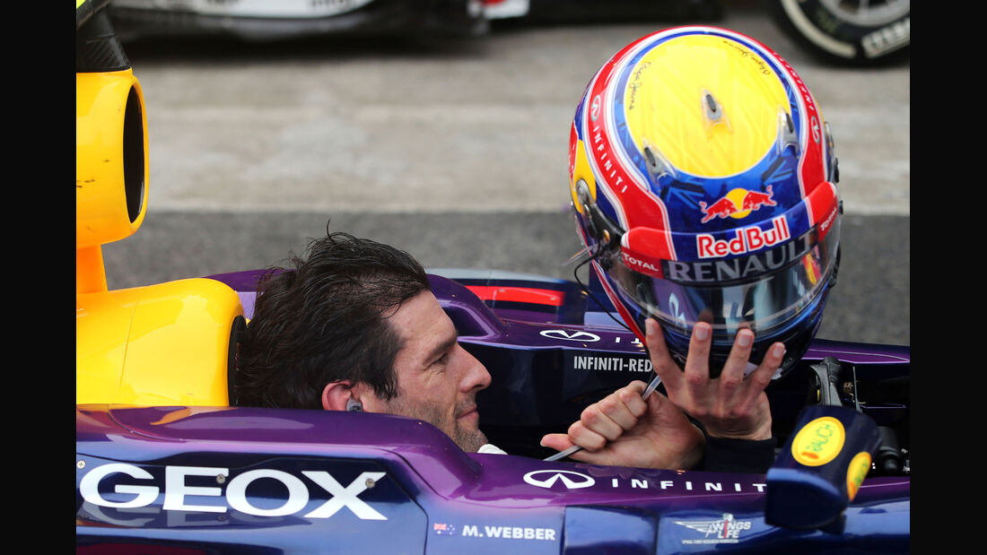Mark Webber - GP Brasilien 2013